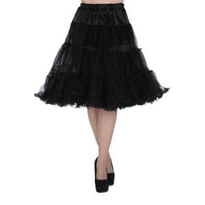 LADY V LONDON Svart Petticoat