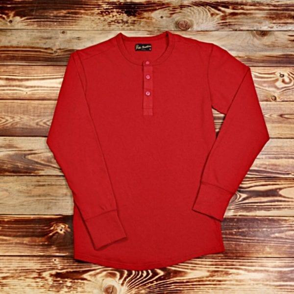 Pike Brother Utility Shirt Röd