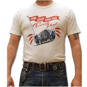 Atomic Swag Longbeach Road Race Hot Rod T-shirt