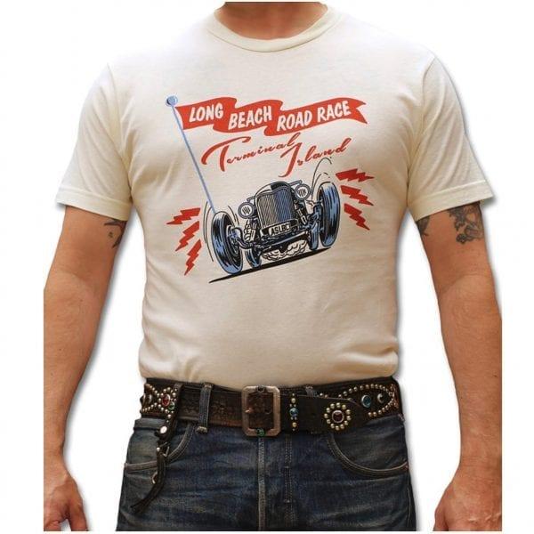 Atomic Swag Longbeach Road Race Hot Rod T-shirt