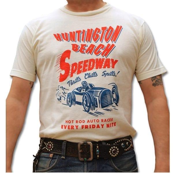 AtomicSwag_Huntington Speedway Hot Rod T-shirt