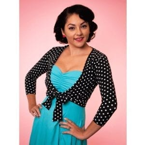 HEART OF HAUTE Polka dot Sweet Sweater