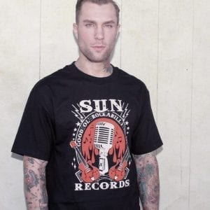 steady_sunrecords_rockabilly t-shirt