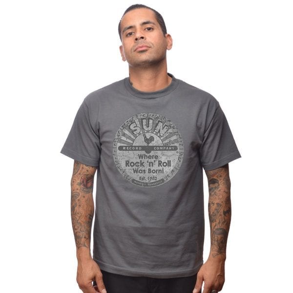 Steady Sun Records Vintage logo T-shirt