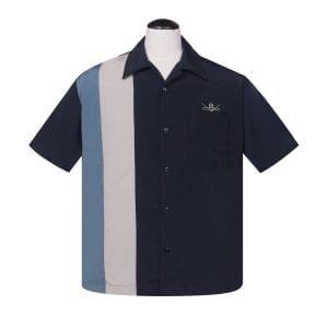 Steady Bent eight 50-tals skjorta rockabilly