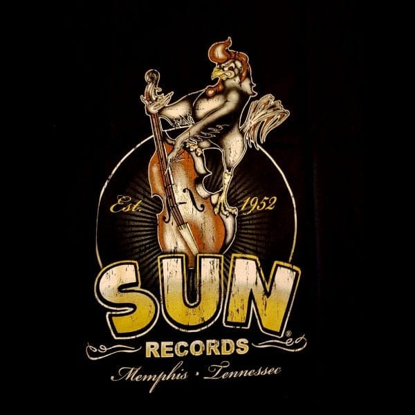 STEADY Sun Records roosterbilly T-Shirt