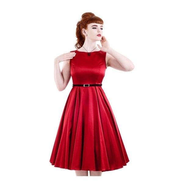 Lady V London 50-tals Hepburn klänning