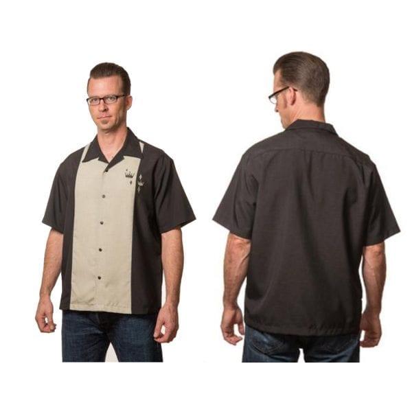 STEADY Contrast Crown Skjorta