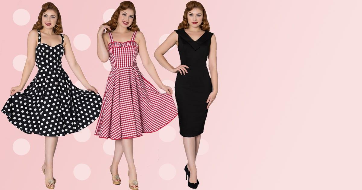 50-tals klänning, rockabilly och vintage kläder