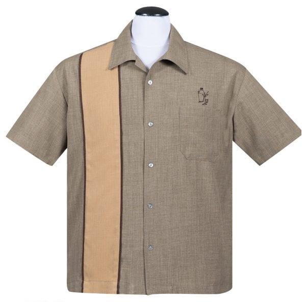 STEADY Palm Springs cocktail 50-tals skjorta rockabilly vintage