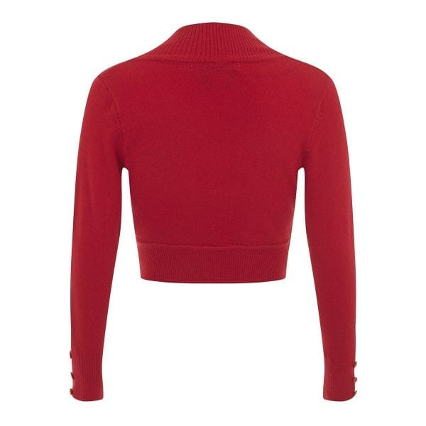Collectif jean röd vintage bolero