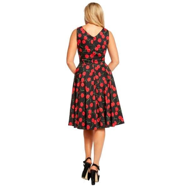 EVAROSE_Rockabilly Cherries klänning