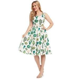 EvaRose_kaktus_vintage_klänning