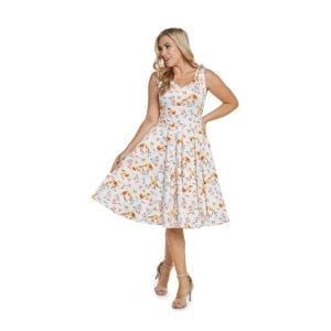 EvaRose foxy vintage 50-tals klänning