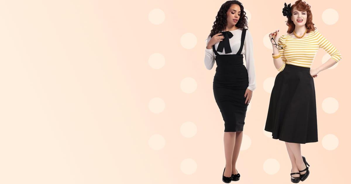 Collectif 50-tals rockabilly kjol