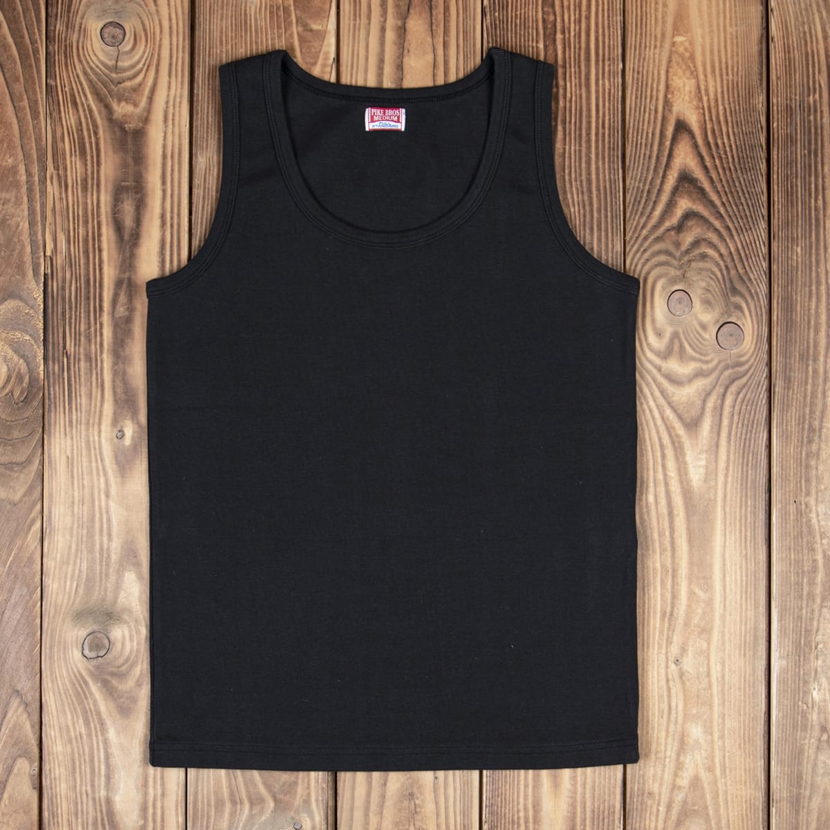 PIKE BROTHERS 1954 Tank Top Linne Svart