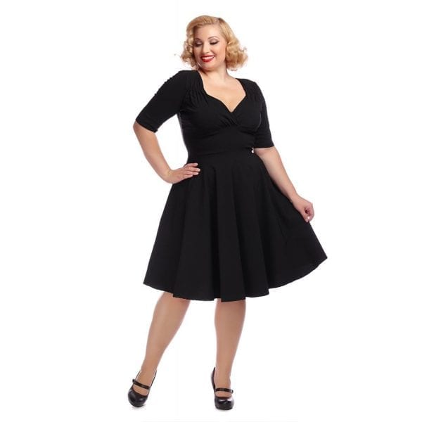 COLLECTIF Trixie Doll 40-tals klanning