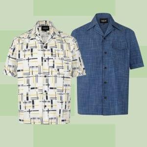 Collectif 50-tals kläder herr rockabilly herrskjortor