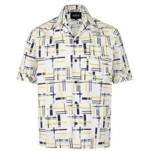 Collectif Oscar carnaby 50-tals skjorta rockabilly