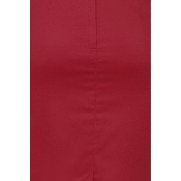 Collectif Bettina röd 50-tals pennkjol rockabilly vintage