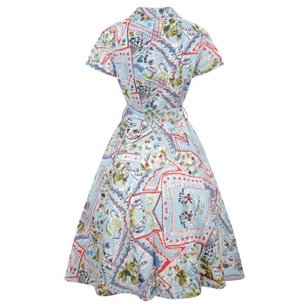 LOVE UR LOOK Vintage vykort 50-tals skjortklänning