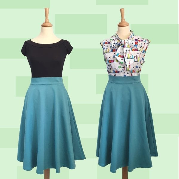 Retrolicious vintage retro 50-tals kläder nördigt nörd