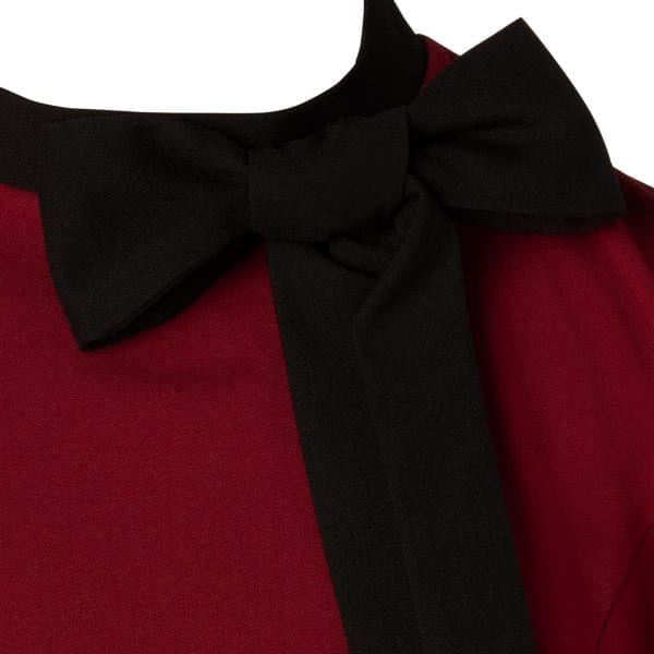 Glamour Bunny Daisy Vinröd 50-tals pennklänning