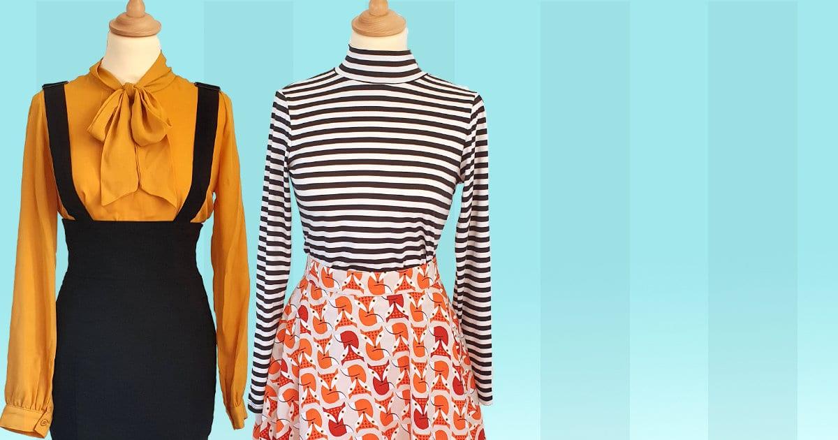 RetroRocket 50 tals rockabilly vintage inspirerade kläder