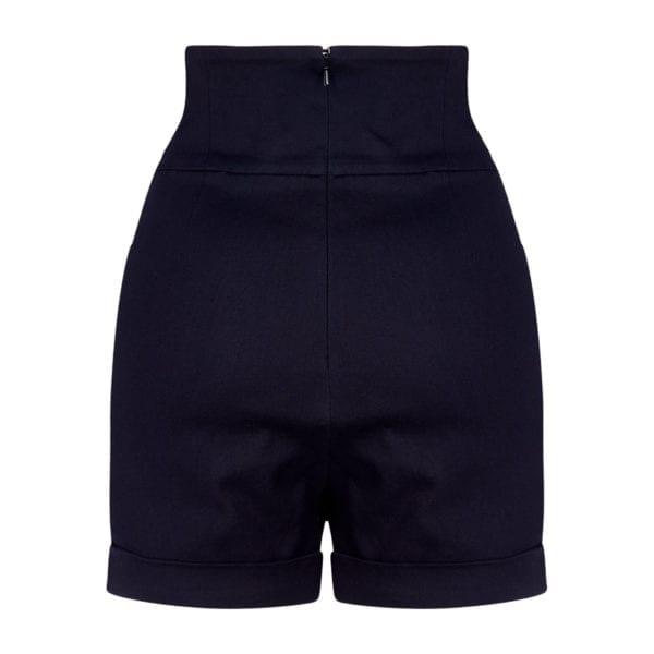 Collectif nomi 50-tals shorts svarta